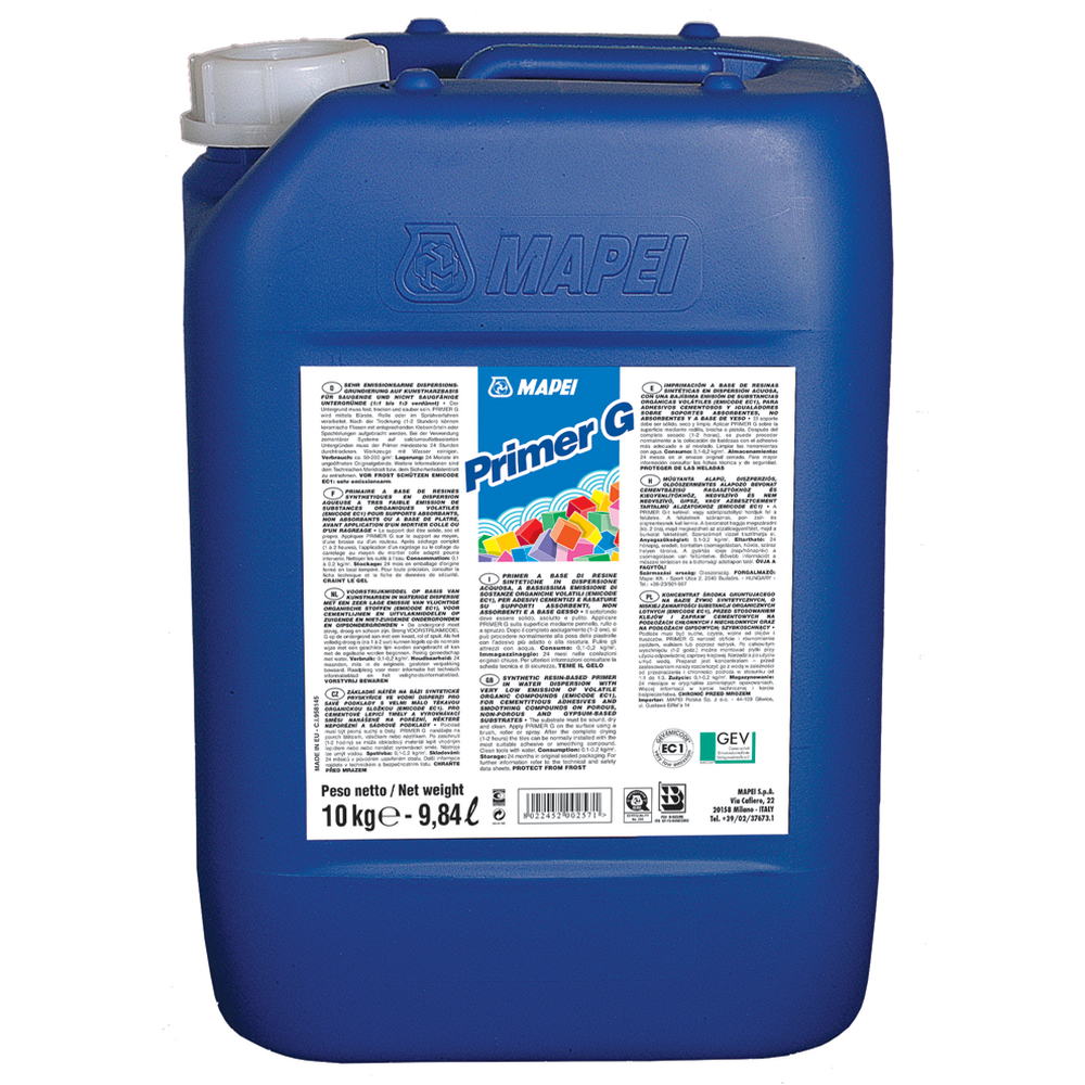 Amorsa Mapei Primer G, interior/exterior, 10 l imagine 2021 mathaus