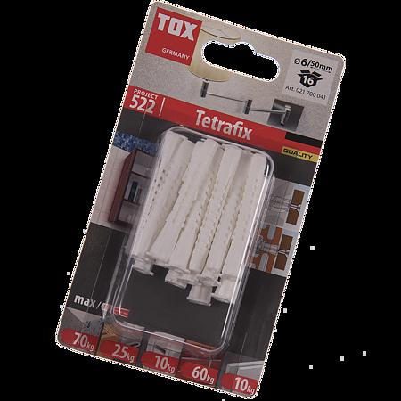 Diblu Tetrafix TFS, plastic, 6 x 50 mm, 16 buc