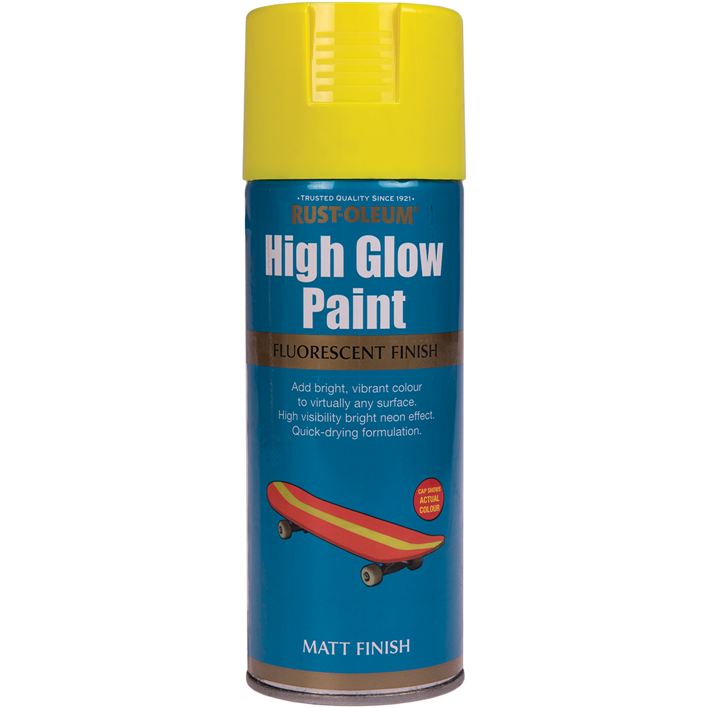 Spray high glow fluorescent galben 400 ml