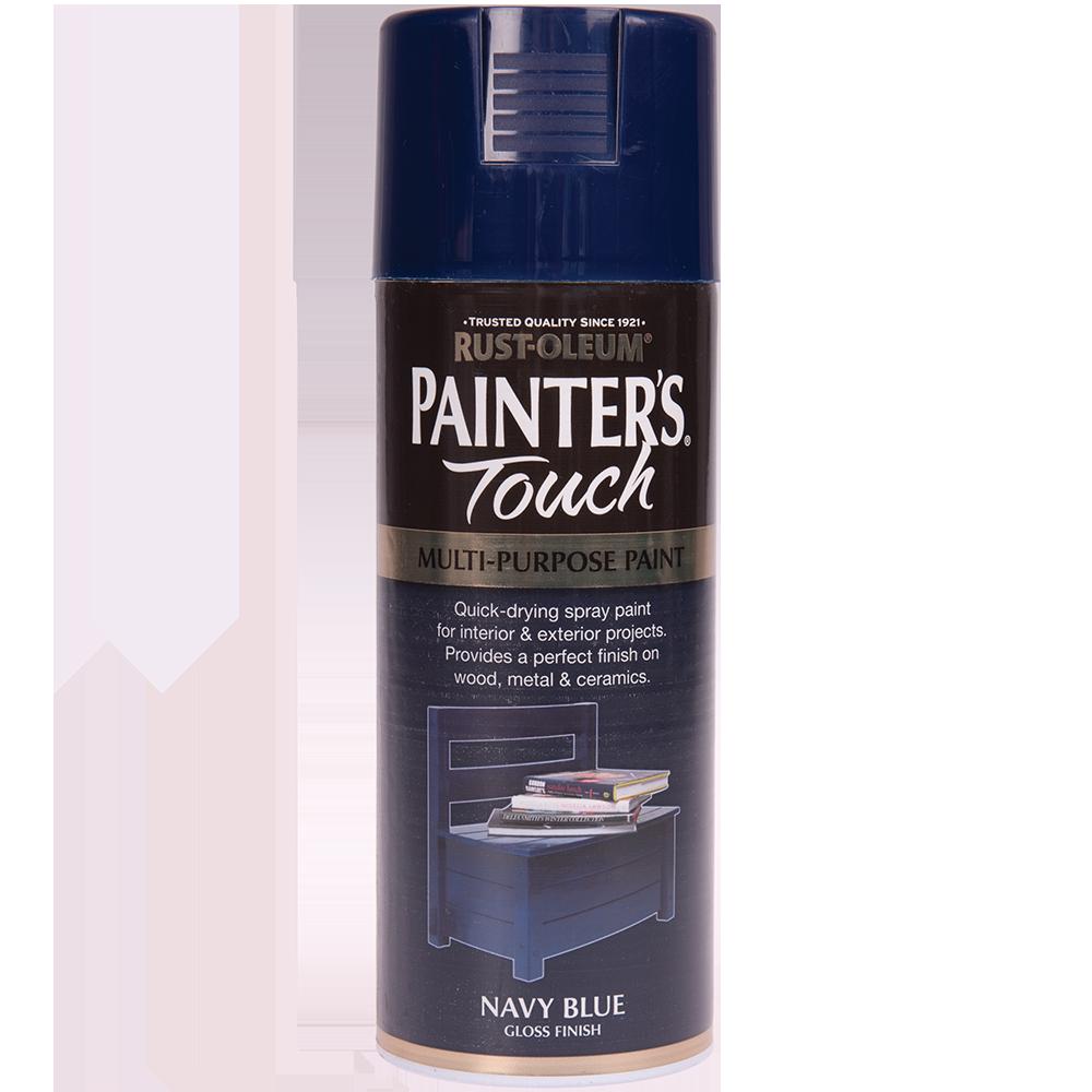 Spray Rust-Oleum Painter`s Touchs, lucios, albastru marin, 400 ml imagine MatHaus