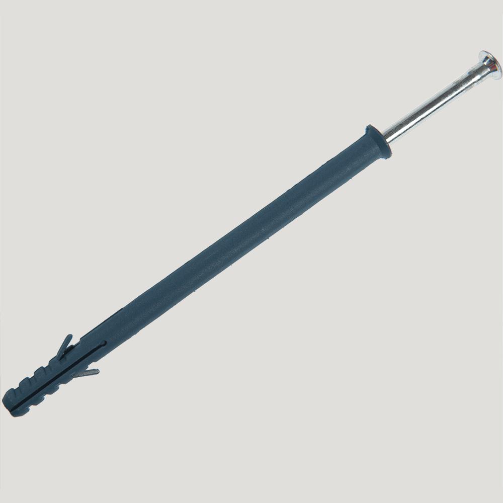 Diblu cu cap inecat cu surub tip cui W, nylon, 10 x 160 mm imagine MatHaus