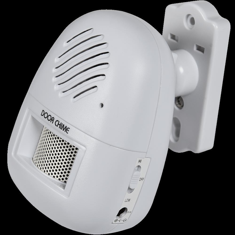Sistem de semnalizare intrare cu suport de perete, senzor de miscare, raza actiune 4-5 m,