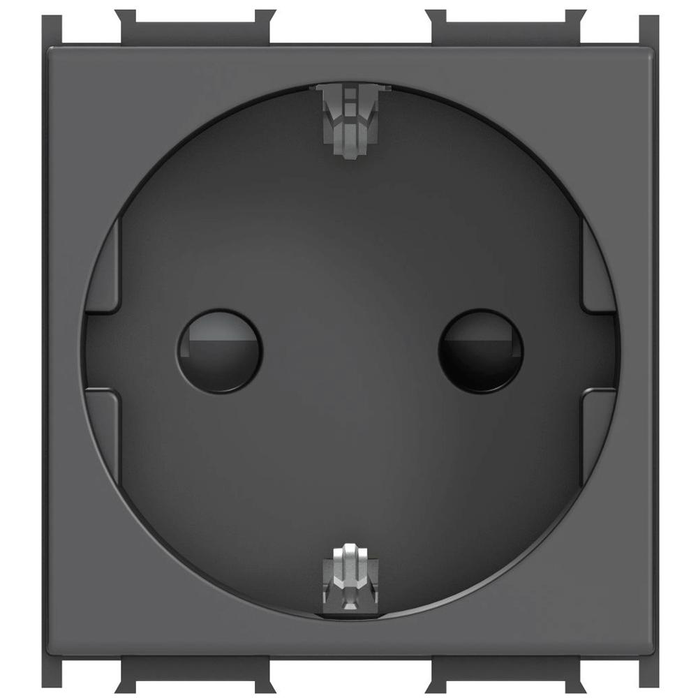 Priza simpla CP Modul, 2m negru mathaus 2021