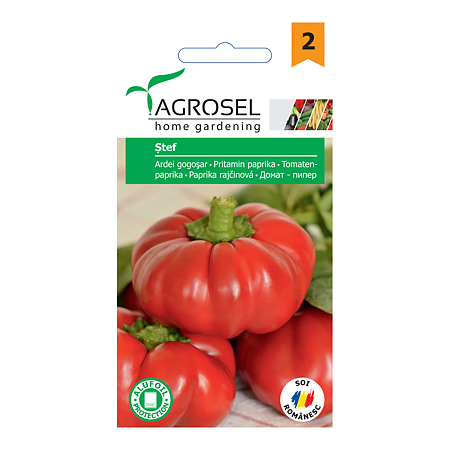 Seminte de ardei gogosar, Agrosel Stef