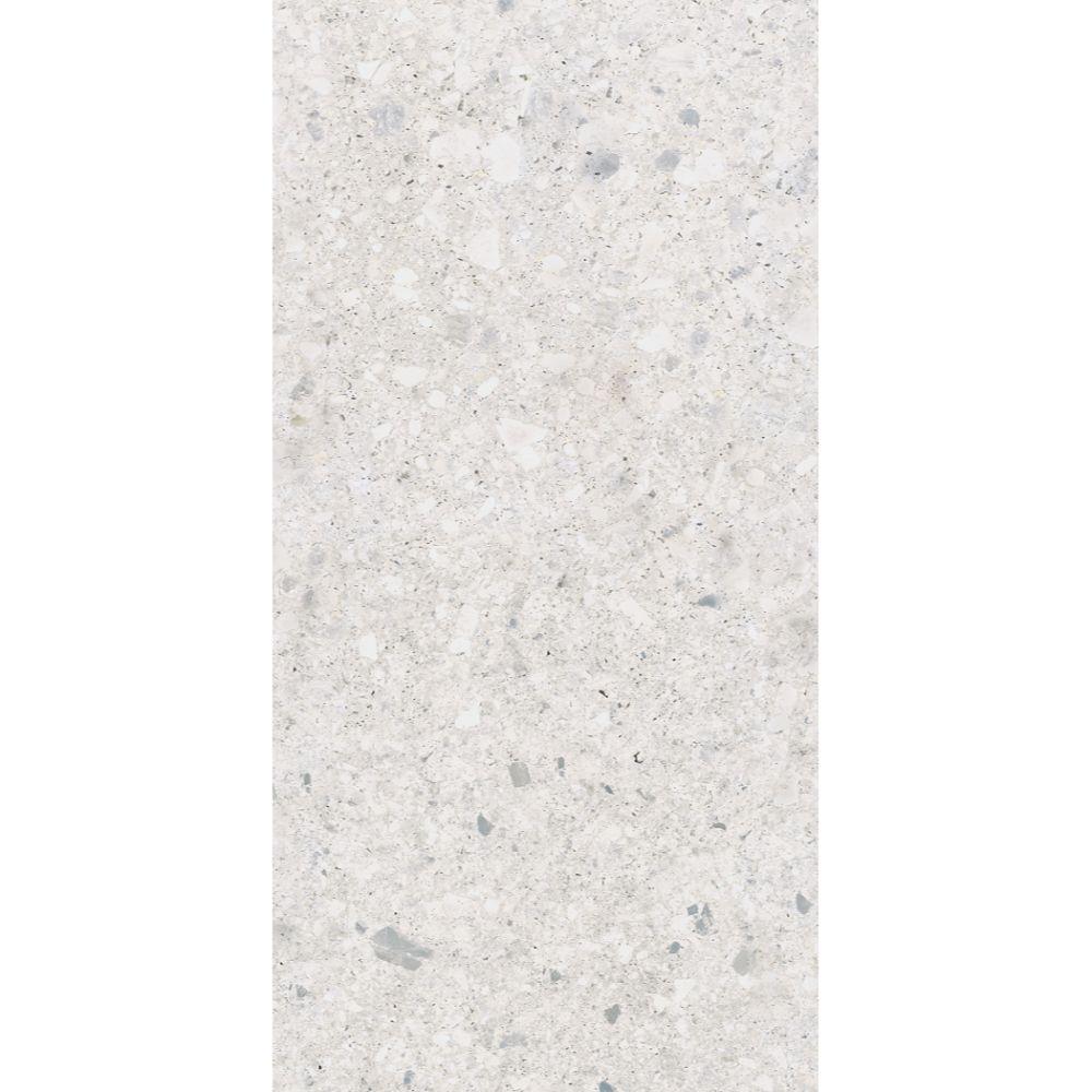Gresie rectificata interior-exterior Kai Ceramics Cortina White gri deschis mat, PEI 4, dreptunghiulara, 60 x 120 cm mathaus 2021