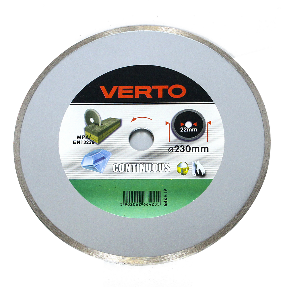 Disc Diamantat Continuu Verto 61H2P9 230 mm imagine 2021 mathaus
