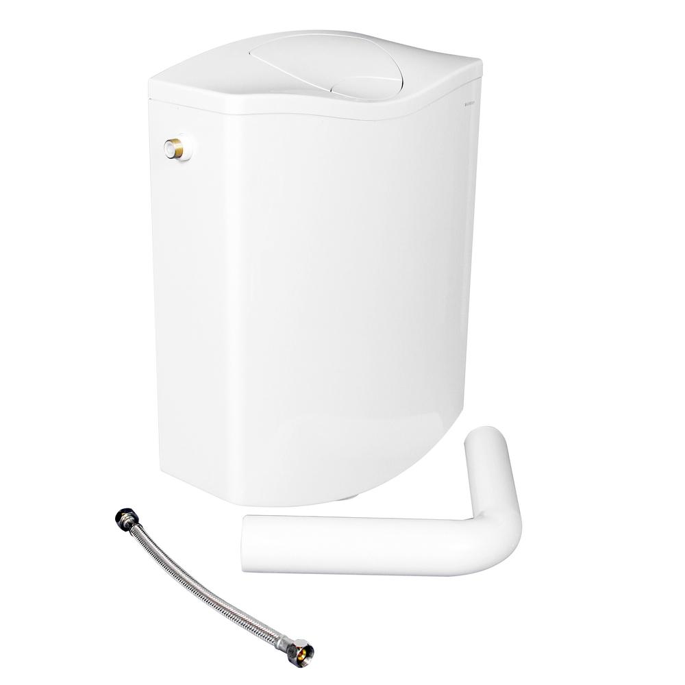 Rezervor WC Geberit AP116, ABS, alb alpin, max. 6 l, 34 x 13,5 x 43 cm imagine MatHaus.ro