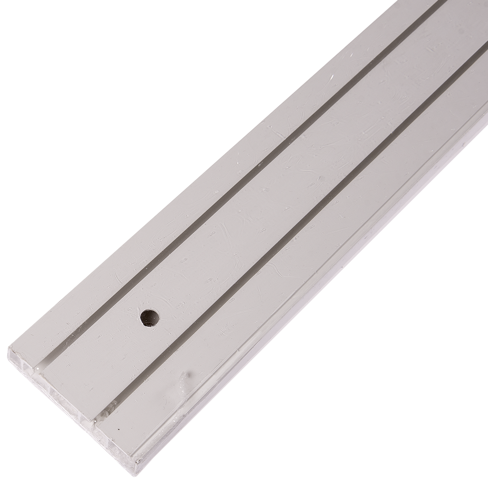 Sina perdea tavan SH2, PVC alb, 2 canale, 250 cm mathaus 2021