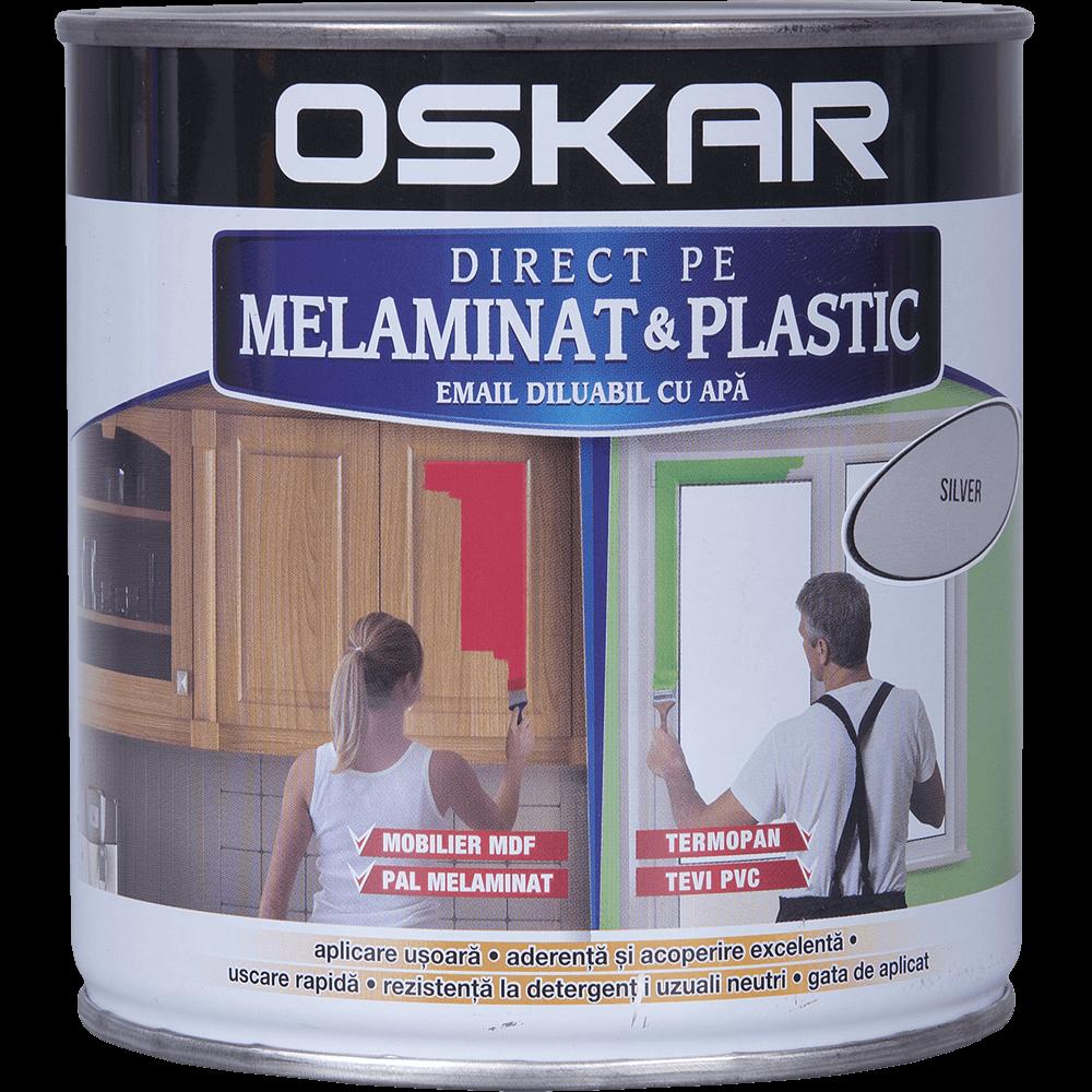 Email Oskar - Direct pe melaminat si plastic silver 0,6L
