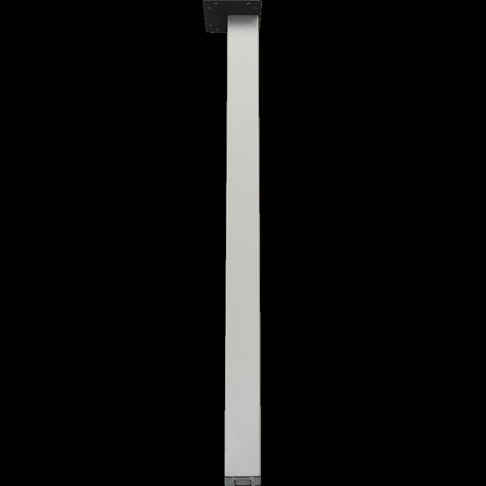 Picior masa din metal cromat, 50 x 50 mm, H: 710-720 mm imagine 2021 mathaus