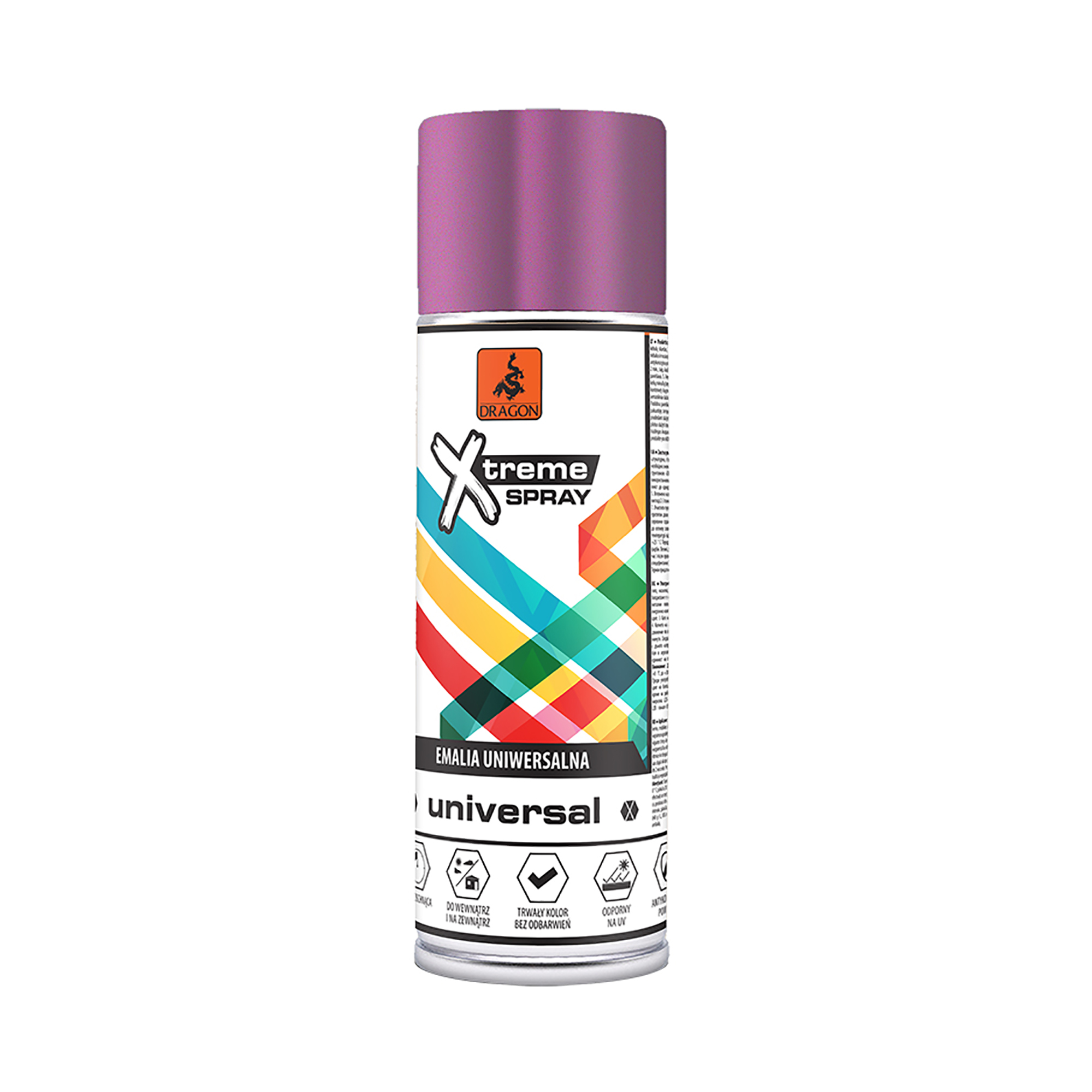 Spray universal Dragon Xtreme, lucios, violet RAL4003, 400 ml mathaus 2021