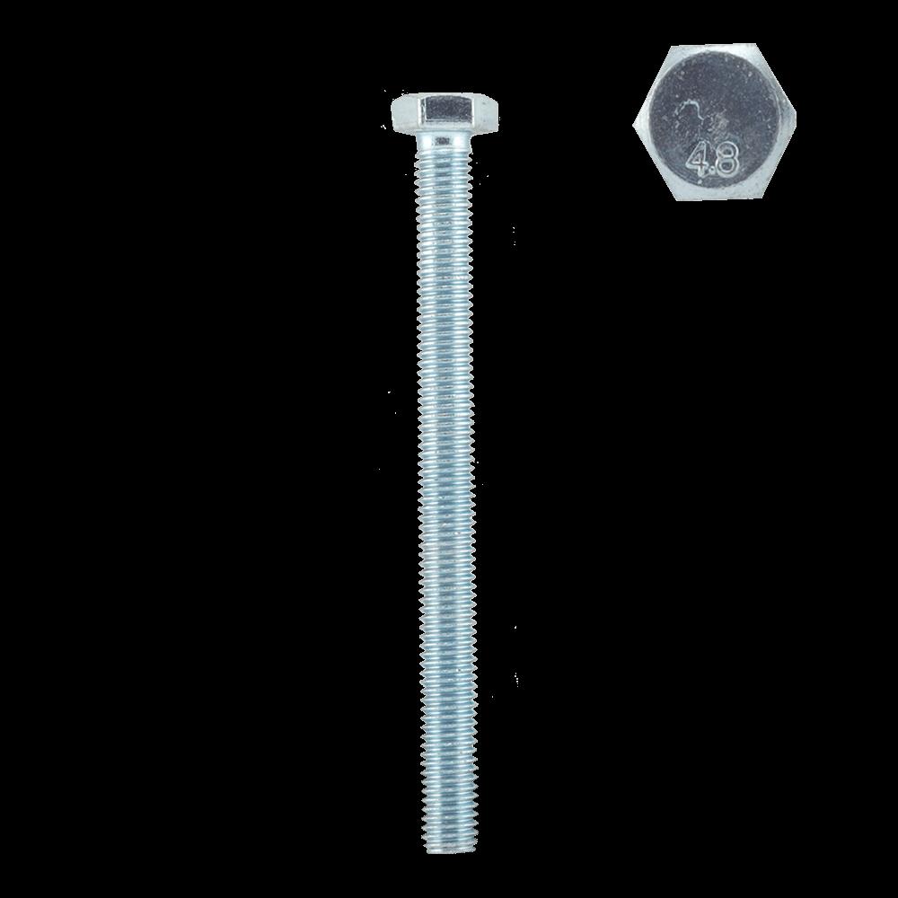 Surub autofiletant cap hexagonal, otel zincat, 8 x 100 mm imagine MatHaus