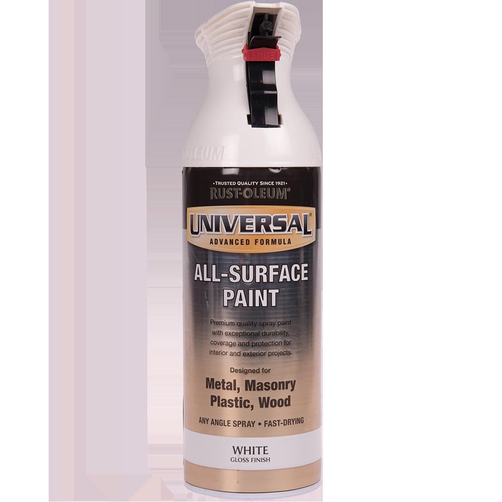 Spray Universal all-surface lucios alb 400 ml imagine 2021 mathaus
