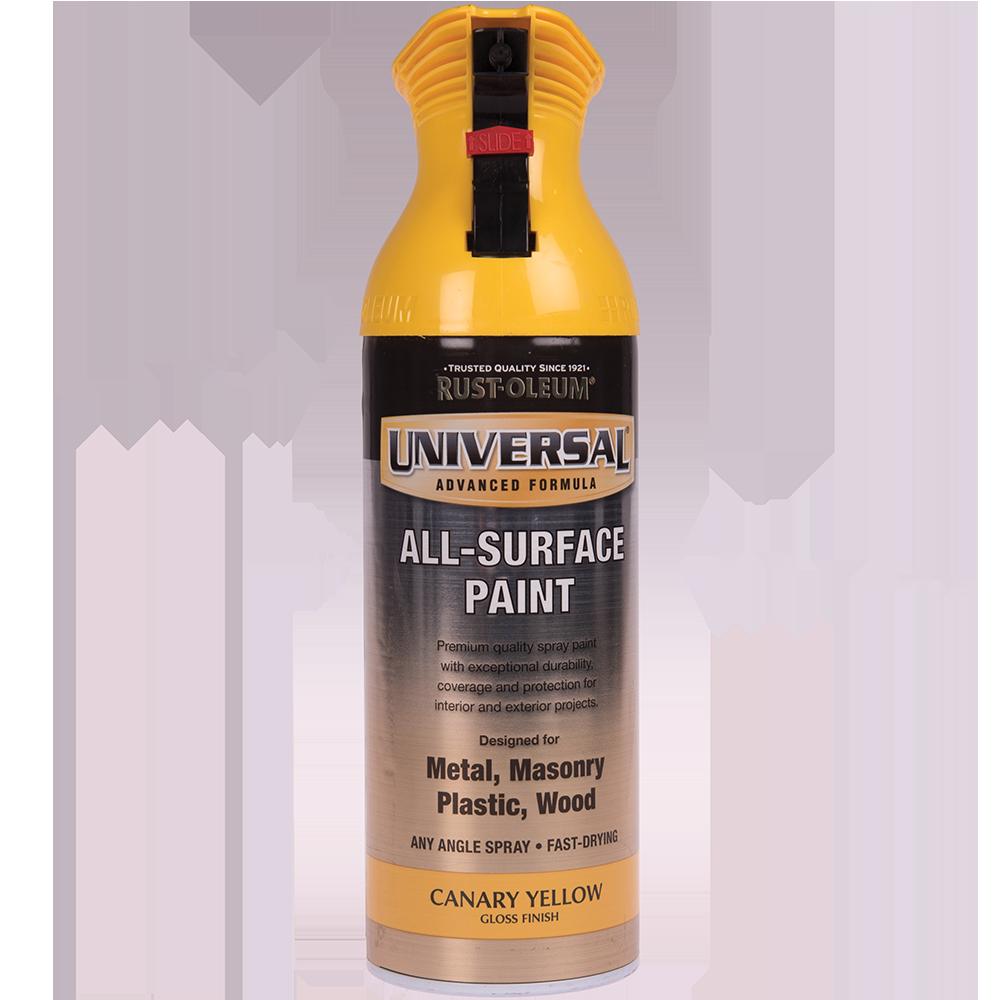 Spray Universal all-surface lucios canary yellow 400 ml imagine MatHaus.ro