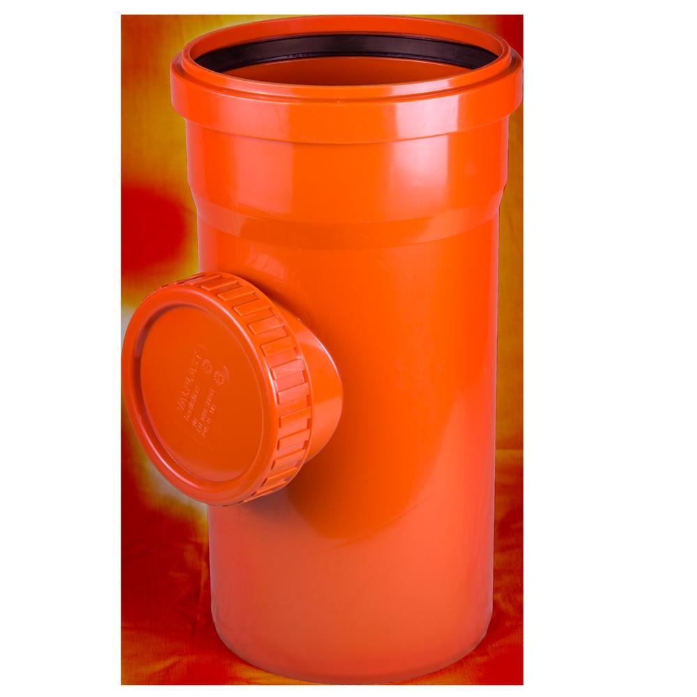 Piesa inspectie pentru canalizare exterioara Valplast, PVC, 160 mm mathaus 2021