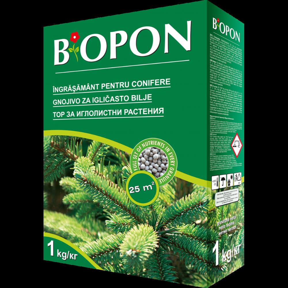 Ingrasamant pentru conifere Biopon, 1 L