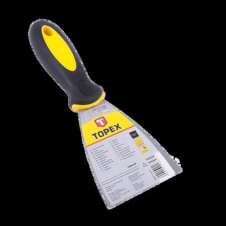 Spaclu din inox Topex 18B607, 75 mm