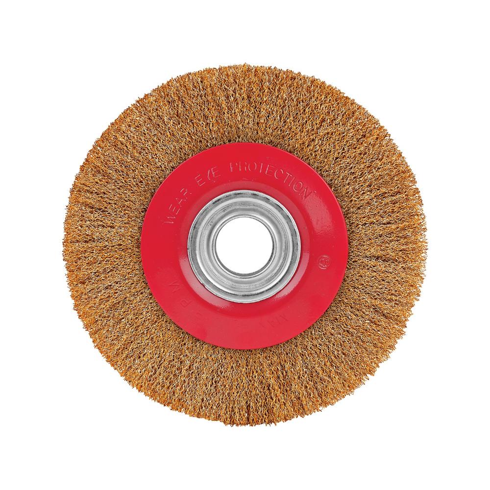 Perie circulara 6/150 mm(40), cu peri din otel mathaus 2021