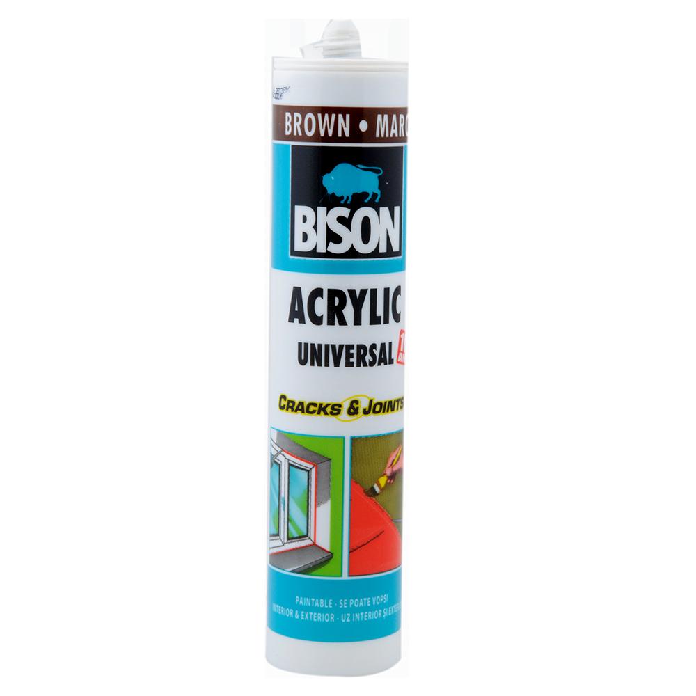 Silicon Acril Bison maro 300 ml