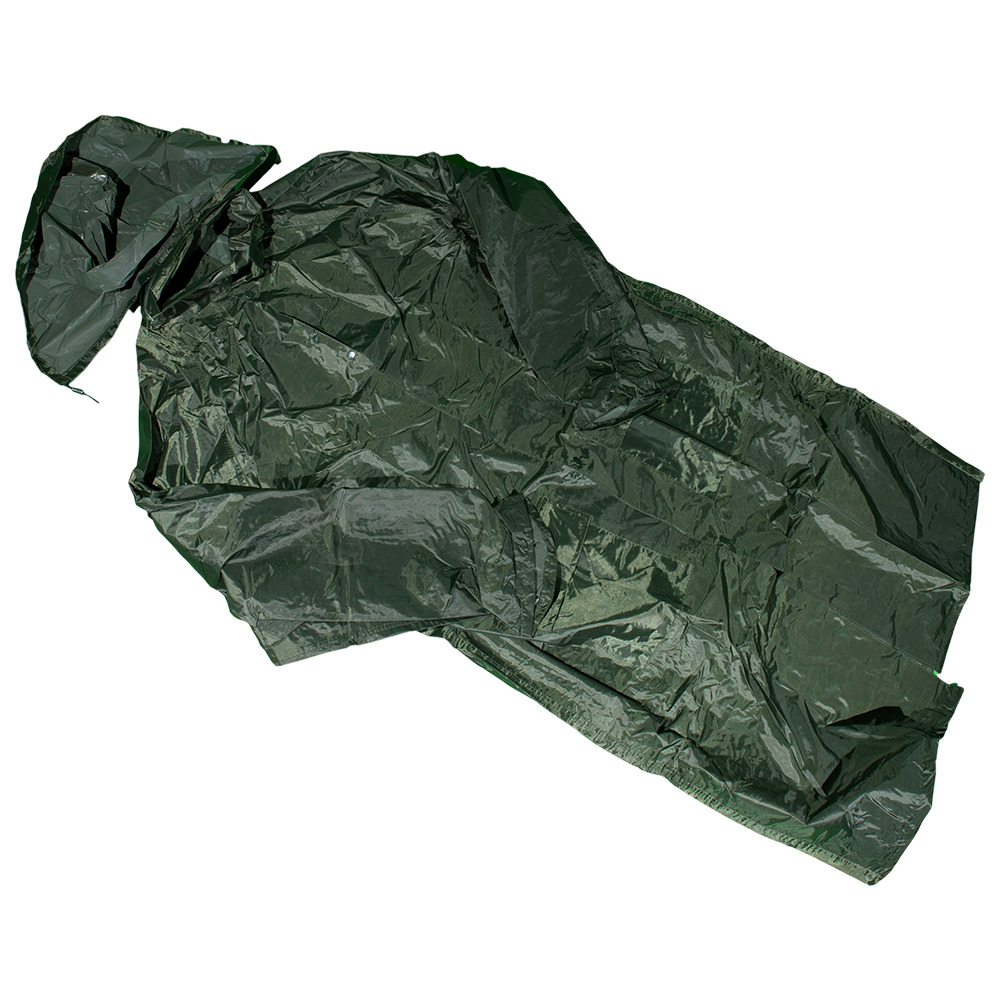 Pelerina impermeabila Duren 3050 Pl-K, PVC, marimea XL, kaki imagine 2021 mathaus