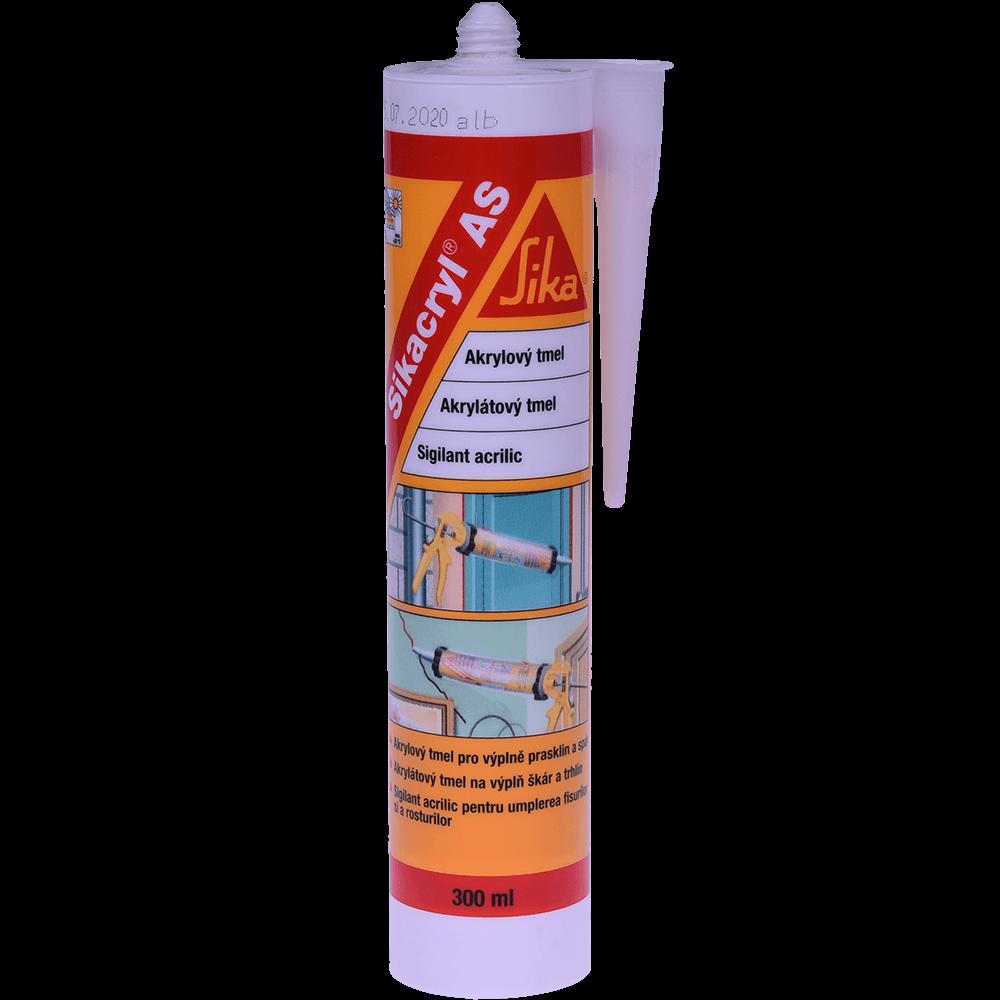 Sigilant acrilic, alb, Sikacryl®-AS, interior, 300 ml imagine MatHaus.ro