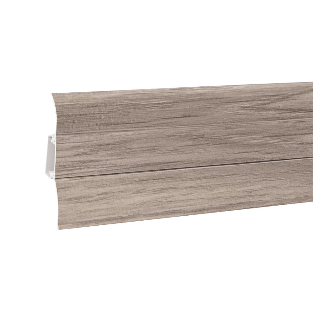 Plinta parchet Perfecta 62  PVC, Millenium light oak, 2500 x 62 x 23 mm imagine 2021 mathaus