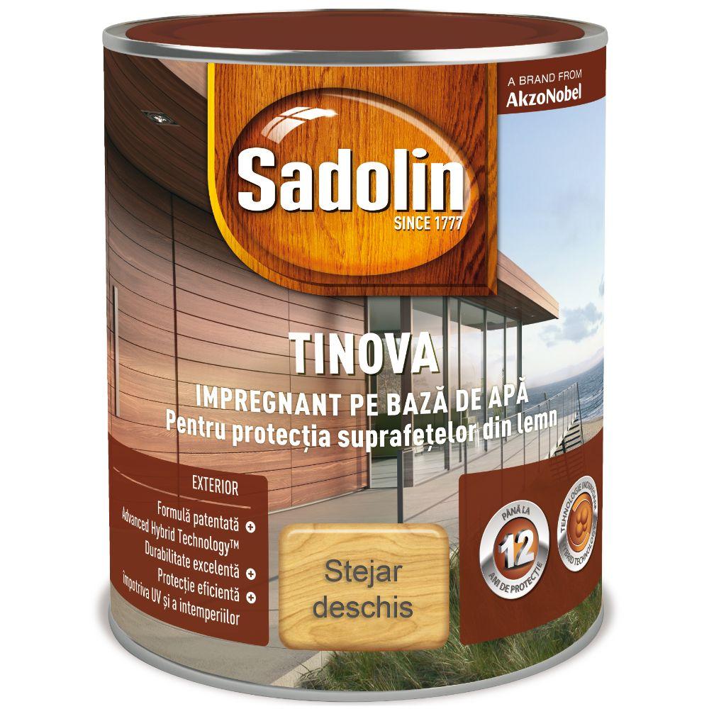 Impregnant pe baza de apa, Sadolin Tinova, pentru lemn, stejar, 0,75 l mathaus 2021
