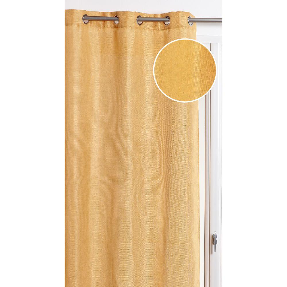 Draperie Precieux 57187, 100% poliester, galben 190, 140 x 260 cm