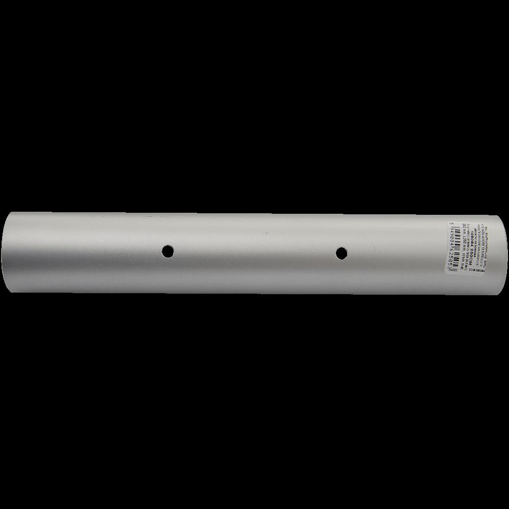 Picior pentru canapea, metal cromat mat,  L: 250 mm, D: 42 mm imagine MatHaus.ro
