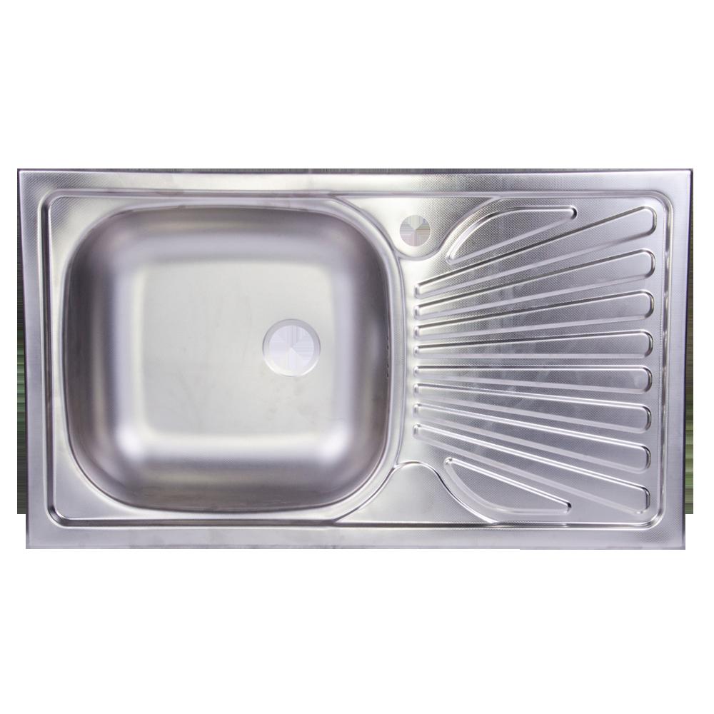 Chiuveta inox stanga 500x800 - 0,6 anticalcar imagine 2021 mathaus