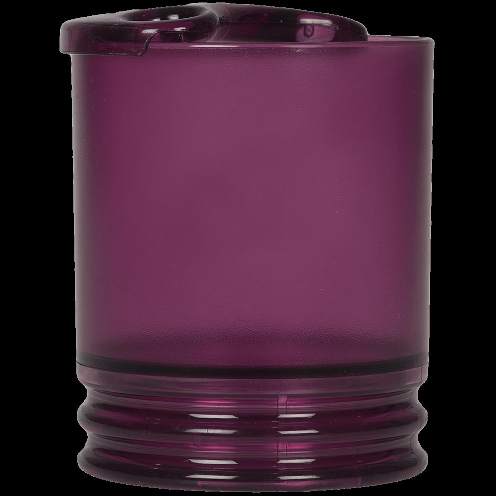 Suport periute de dinti Aqua Aubergine, plastic, 9 x 8,7 x 10,7 cm imagine 2021 mathaus