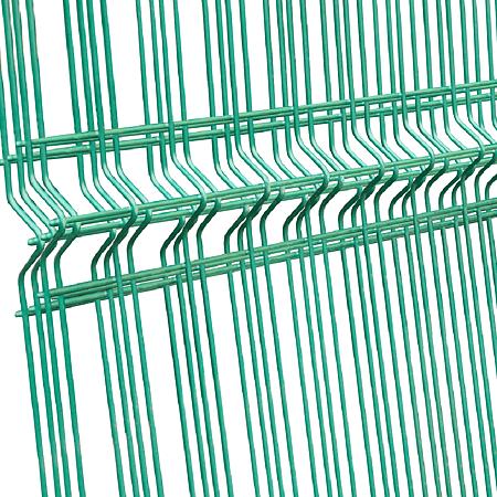 Panou gard plastifiat zincat bordurat verde 4,2 x 1730 x 2025mm