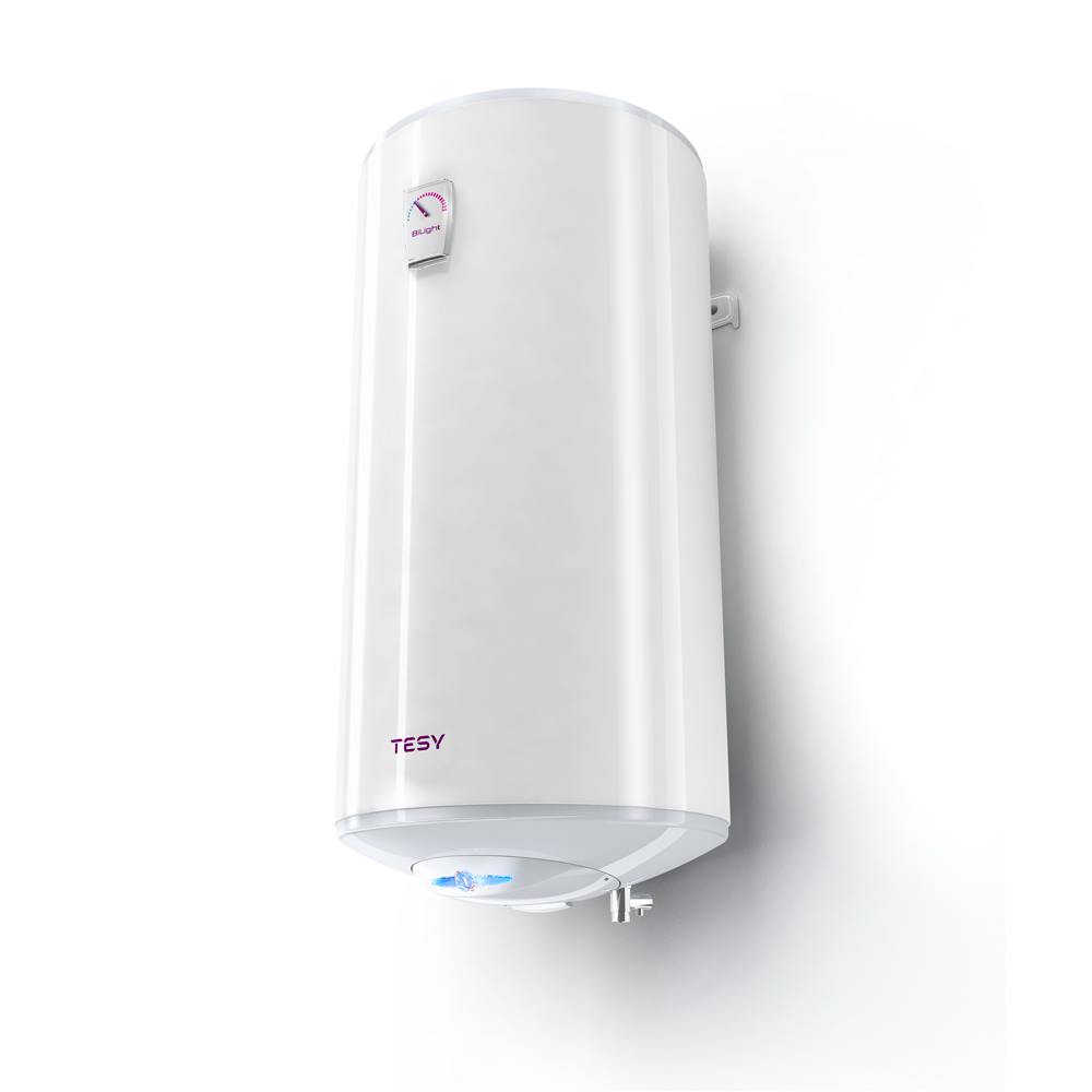 Boiler termoelectric Tesy Base Line GCVS1004420B11TSR, 100 l, 2000 W, alb, diametru 44 cm, lungime 93 cm imagine 2021 mathaus