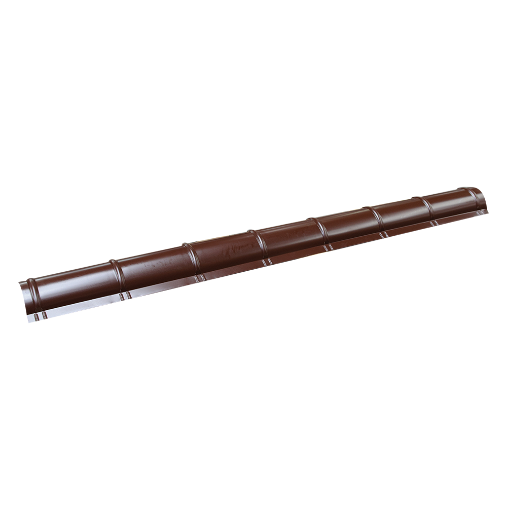 Coama metalica mica Durako, maro, RAL 8017, lucios, L= 2 m