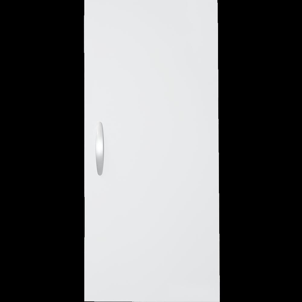 Dulapior deschidere stanga Savinidue 929, PAL, 31,5 x 71 x 25 cm, alb imagine MatHaus.ro