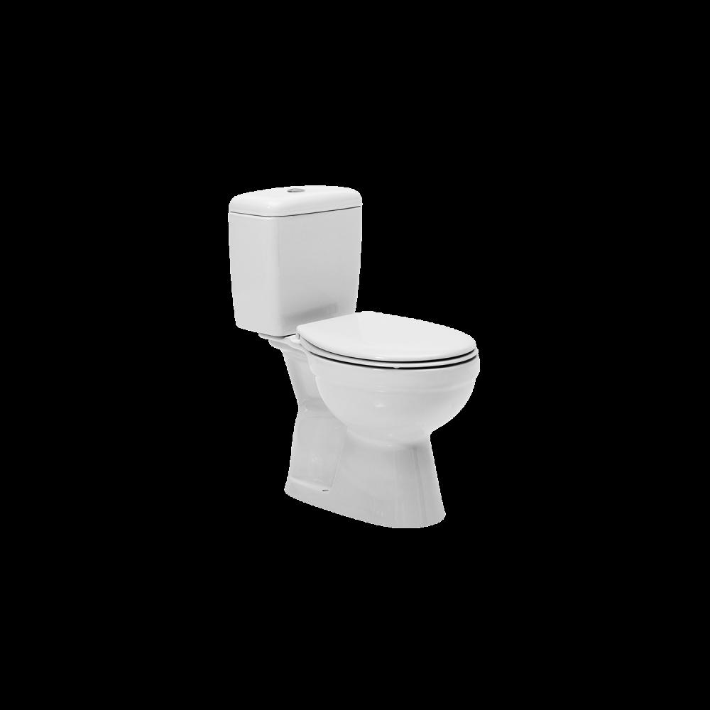 Set WC Menuet Ova, portelan, alb, evacuare verticala + rezervor, 3/6 litri imagine 2021 mathaus