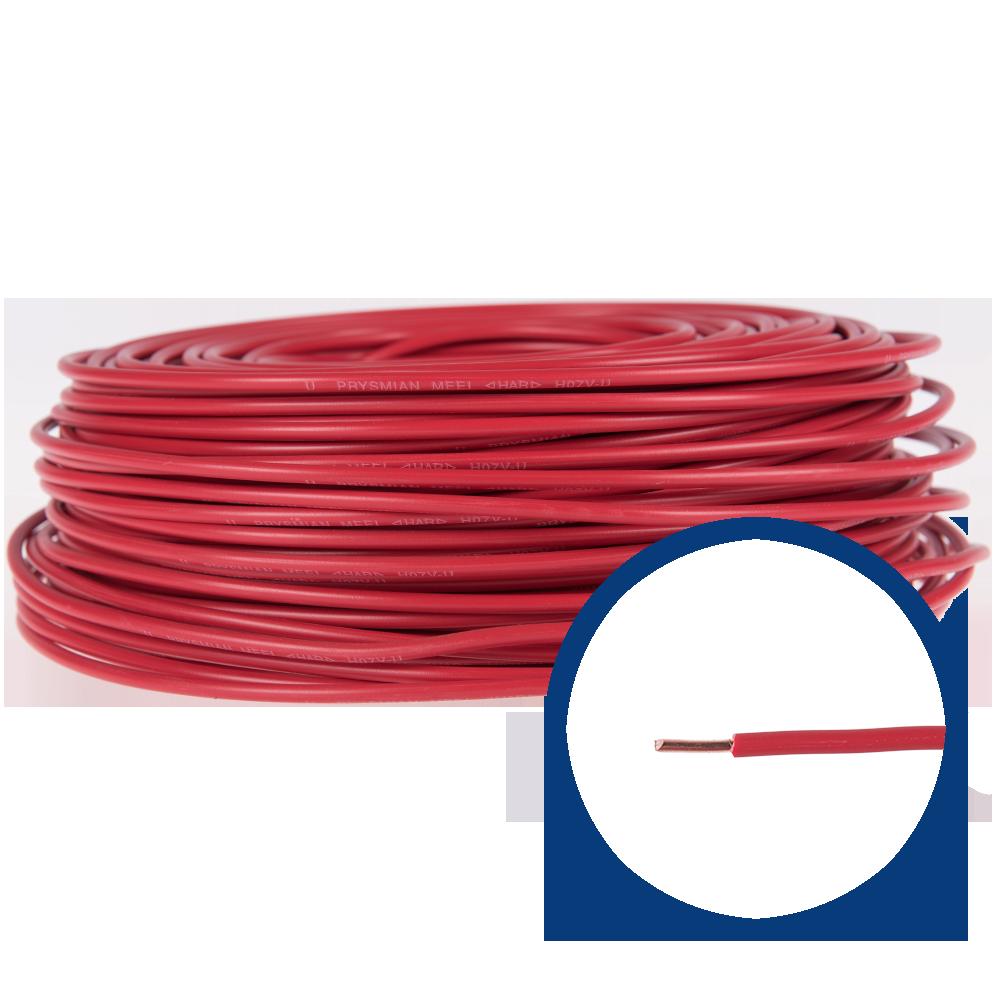 Cablu electric FY/ H07V-U 4 mm rosu