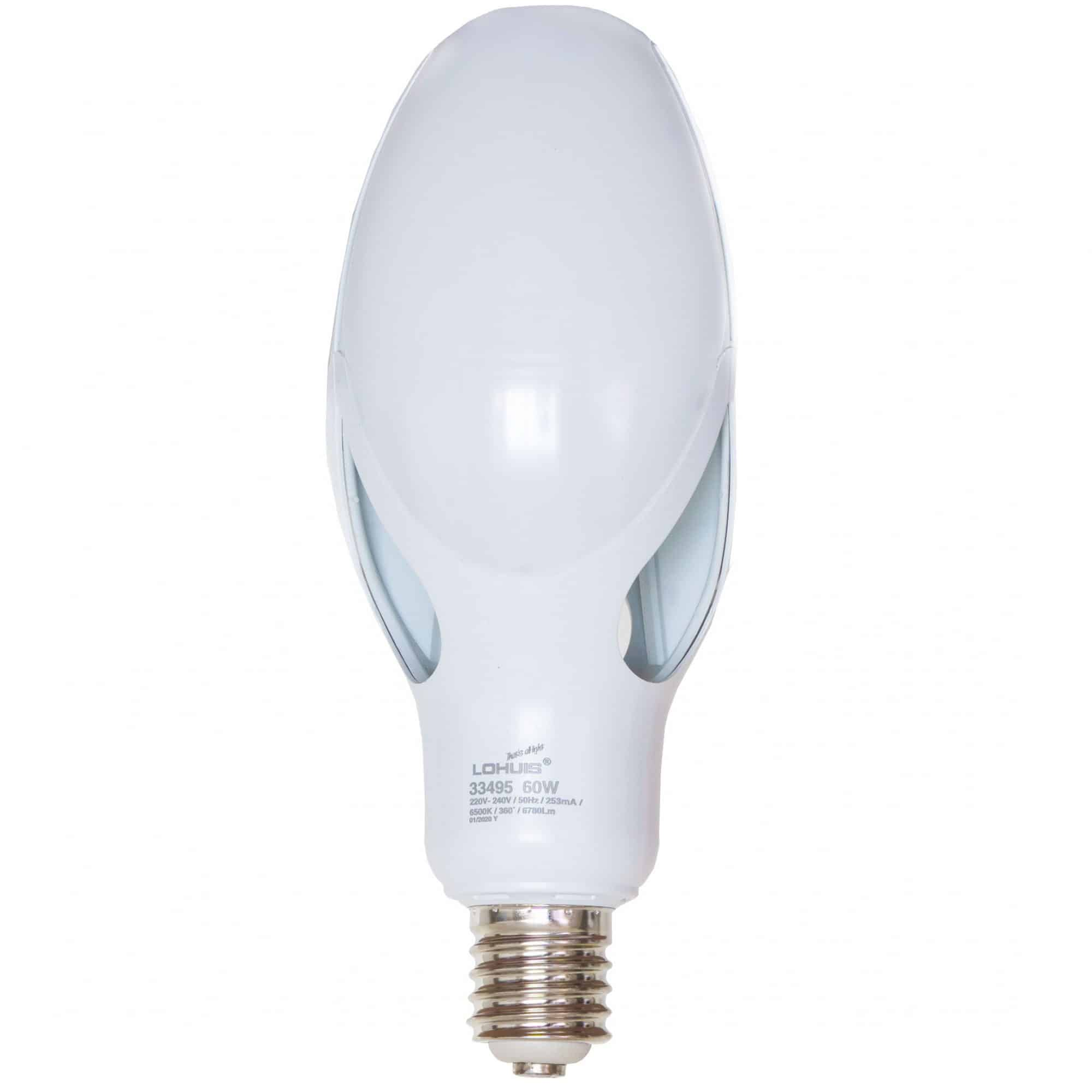 BEC LED FLOWER E40 60W 6500K  LOHUIS mathaus 2021