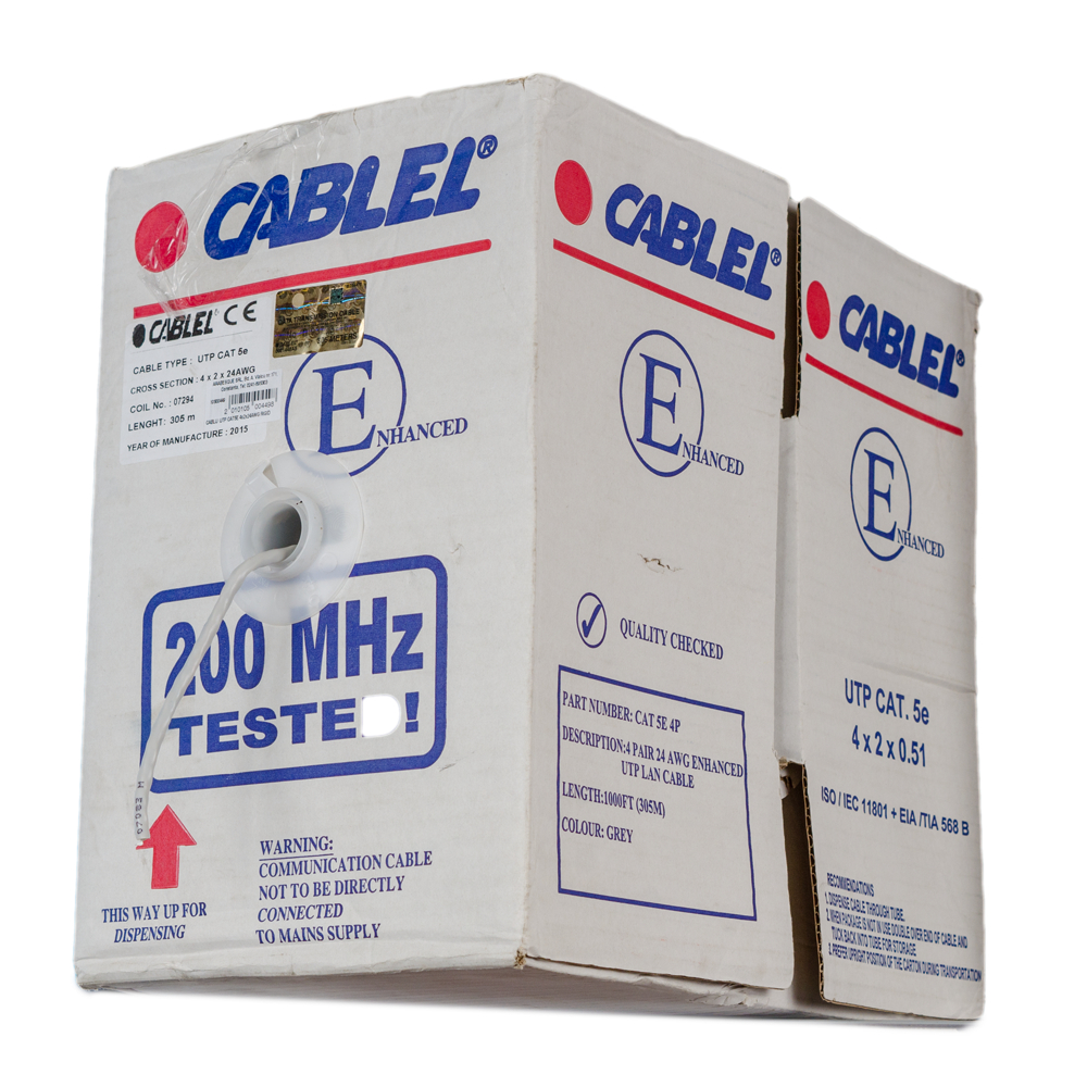 Cablu UTP, categoria 5E, 4 x 2 x 24 AWG, 305 m/ rola imagine 2021 mathaus