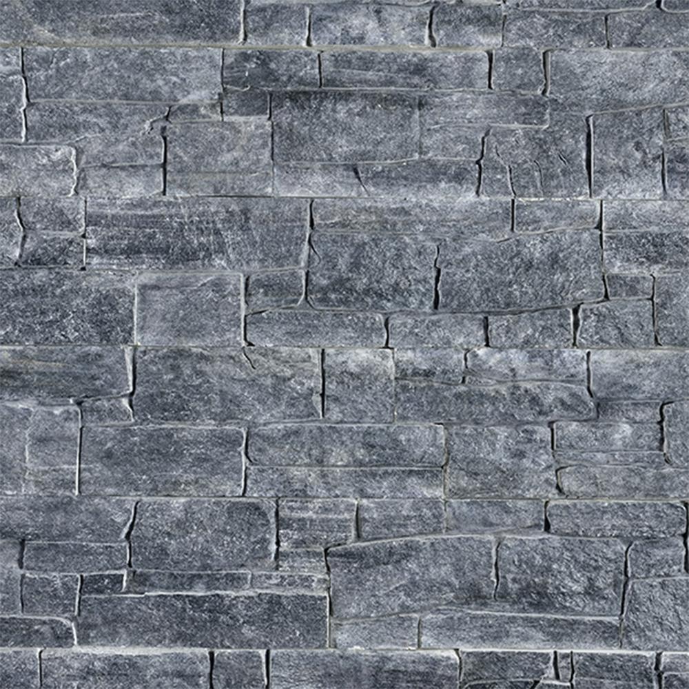 Piatra decorativa Modulo Rugged Ledgestone Grey, interior/exterior