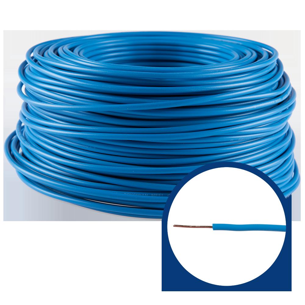 Cablu electric FY/ H07V-U 1,5 mm albastru imagine 2021 mathaus