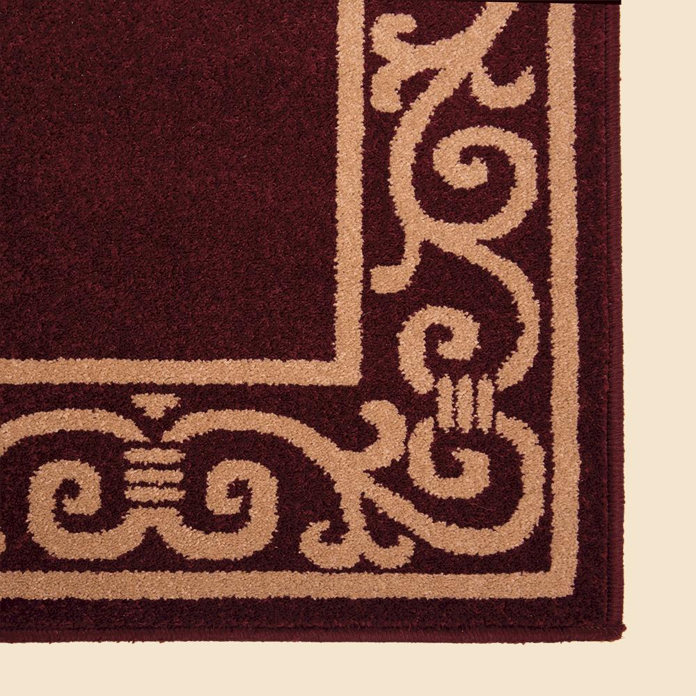 Covor dreptunghiular Fresco 5034-429 maro 60 x 100 cm imagine MatHaus