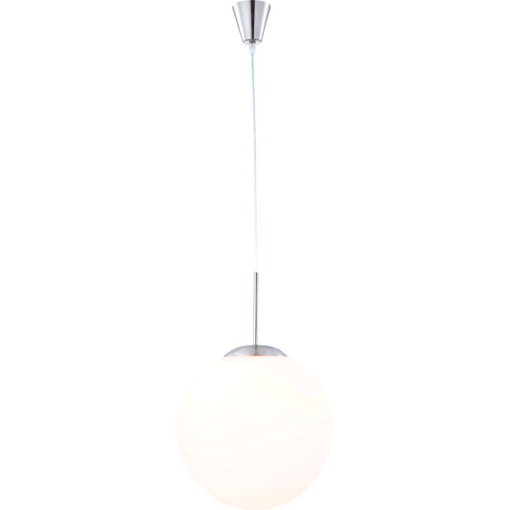 Pendul Balla 1582, 1 x E27, 60W, D 300 mm, nichel mat + opal mathaus 2021