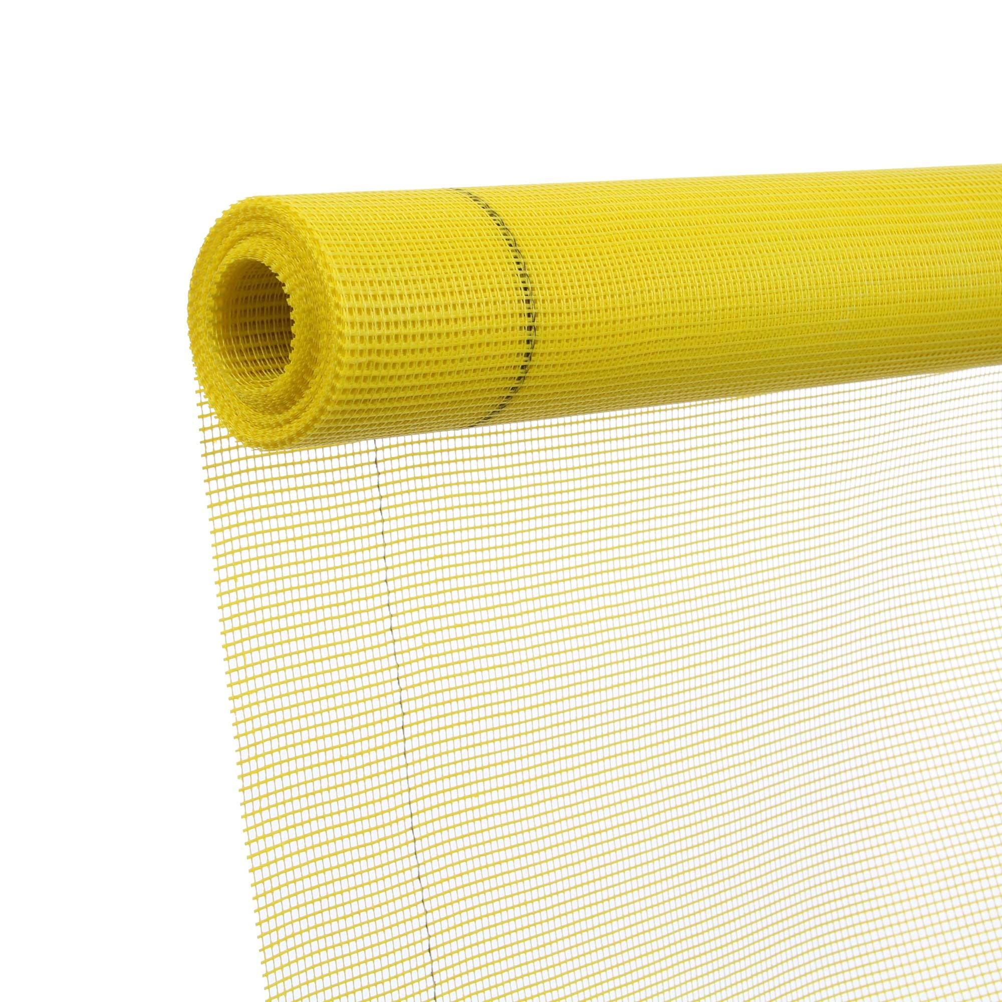 Plasa din fibra de sticla, 145 gr, 50 mp, galben imagine 2021 mathaus