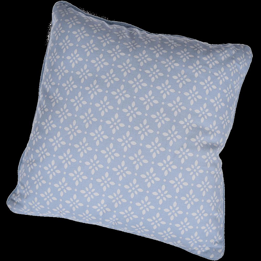Perna decorativa Mosaik, bleu clar, 40 x 40 cm, patrata, 100% bumbac mathaus 2021
