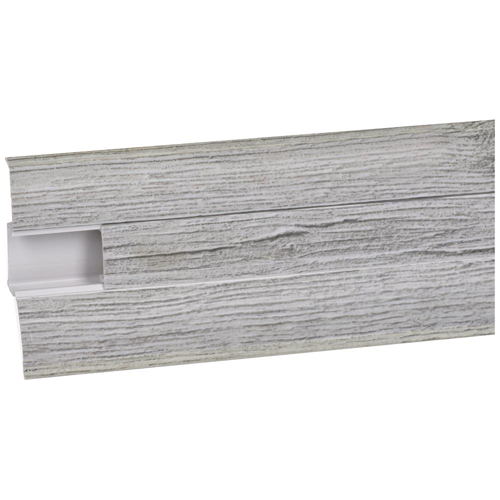 Plinta parchet Perfecta 221, PVC, Calisto oak, 2500 x 62 x 23 mm imagine 2021 mathaus