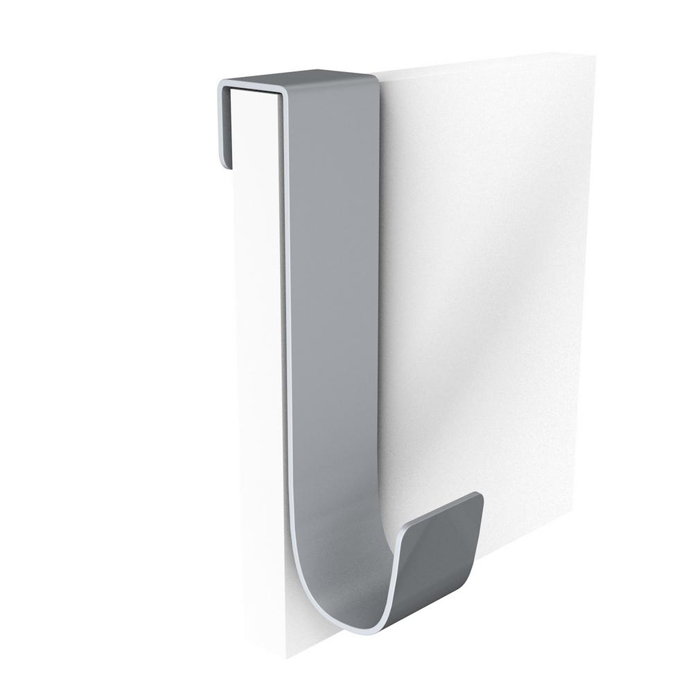 Agatator haine, agatare dubla, aluminiu, argintiu, 60 x 45 x 90 mm imagine 2021 mathaus