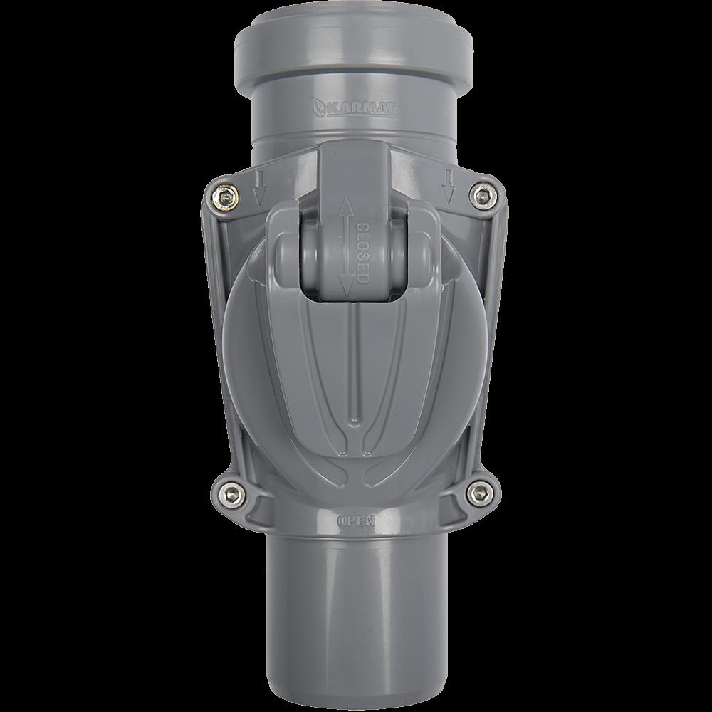 Clapeta antiretur pentru canalizare, PVC, 50 mm imagine 2021 mathaus