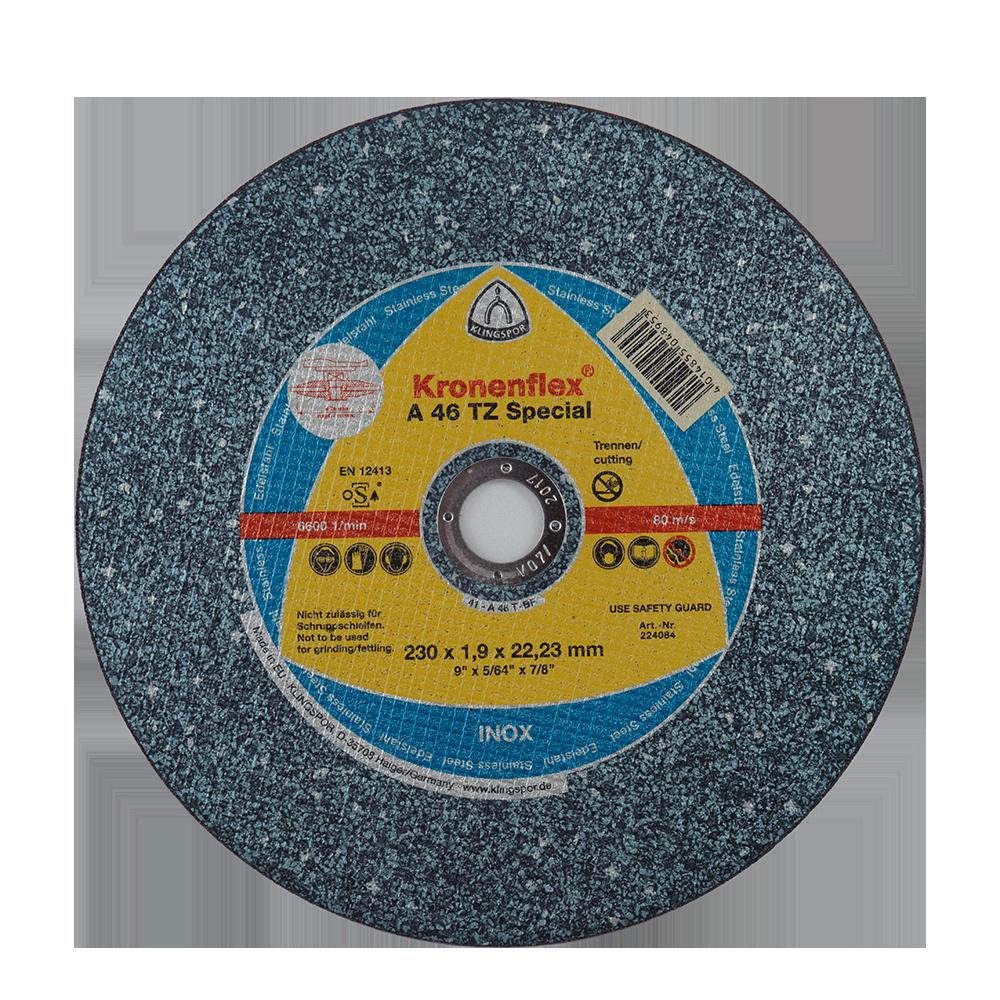 Disc Debitare Inox Klingspor 224084 230 X 1,9 X 22,23 mm imagine 2021 mathaus