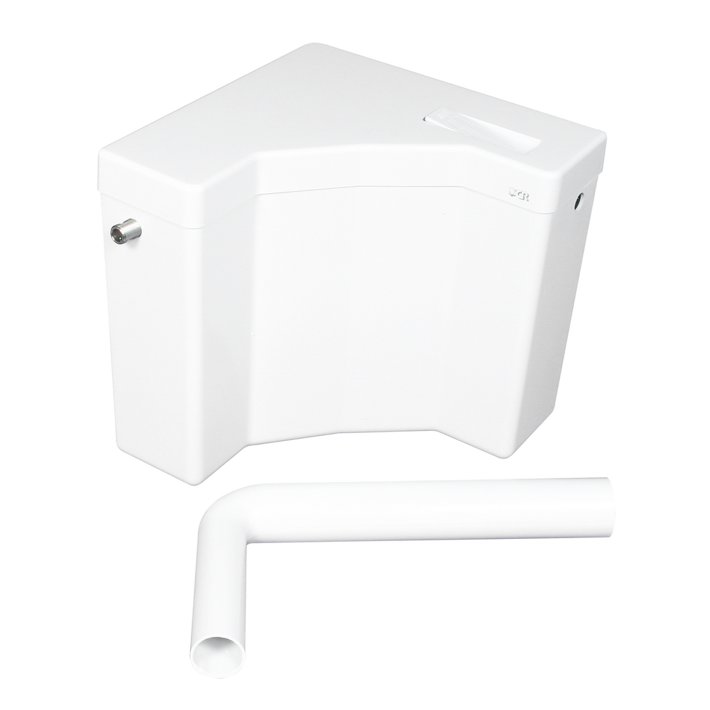 Rezervor WC Angolo Eurociere, ABS, max. 9 l imagine MatHaus.ro